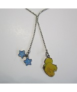 """Child's Tinkerbell and Glittered Stars Necklace with 14"""" Silvertone Ball... - $6.99"""