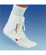 Mueller BI-LATERAL ANKLE BRACE, WHIITE - LG - $24.99
