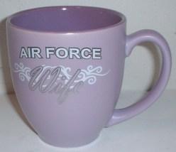 "ceramic coffee mug: USAF US Air Force ""Air Force Wife"" - $15.00"