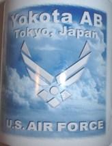 ceramic coffee mug: USAF US Air Force Yakota Air Base; Tokyo Japan - $15.00
