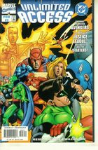 UNLIMITED ACCESS #3 (Marvel / DC) NM! - $1.00