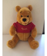 Winnie The Pooh Stuffed Animal Plush Bear Disneyland Disney World Parks ... - $19.95