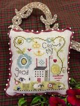 Crown Thy Good Pincushion Kit cross stitch kit Shepherd's Bush - $20.00