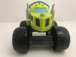 "Blaze And The Monster Machines Talking Zeg Truck 7"" Toy Mattel 2014 Viacom - $16.34"