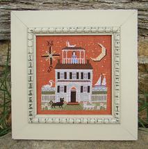 Widow's Walk halloween cross stitch chart Carriage House Samplings - $8.10