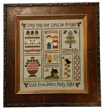 With Freedom's Holy Light cross stitch chart Cherry Hill Stitchery - €6,30 EUR