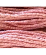 Rose Petal (CCT-239) 6 strand hand-dyed cotton ... - $2.15