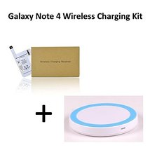 Qi Wireless Charging Kit For Samsung Galaxy Note 4 IV Devices with 700 m... - $34.99