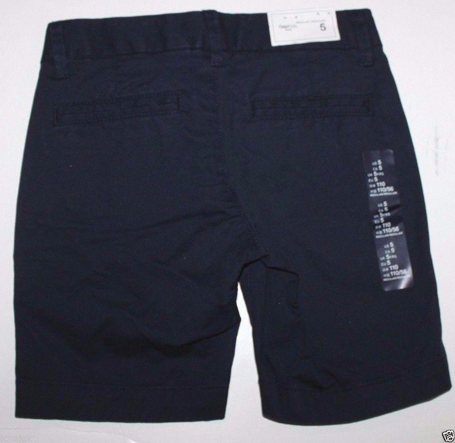 Gap Kids NWT Girl's Navy Blue Uniform Shorts School Uniform Chino Shorts image 2