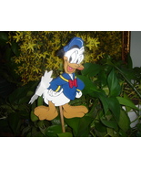 Whirligig Famous Donald Duck, Handpainted, Handcrafted,wind mobile,winds... - $58.00