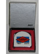 Vintage Plateau Supply Inc. Advertising Tape Measure By Lufkin Original Box - $12.00