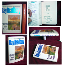 Ray Bradbury QUICKER THAN THE EYE  signed copy, first edition, mint. Bea... - $150.00