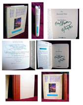 Ray Bradbury THE ILLUSTRATED MAN signed and dated copy, mint condition - $200.00