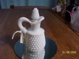 Westmoreland American Hobnail Milk Glass Cruet - $9.90