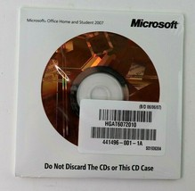 Microsoft Office 2007 Home and Student (for PC) - New Sealed! - $39.95
