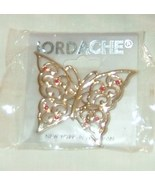 Butterfly pin by Jordache in goldtone - $9.00