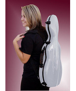 TONARELI Fiberglass Violin 4/4 Full Hard Case - SILVER - NEW with music bag - $239.00