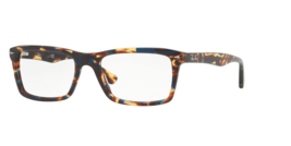 Ray Ban RX5287 Eyeglass Frames 5711-54 - Spotted Blue Brown RX5287 5711 54 - $171.27