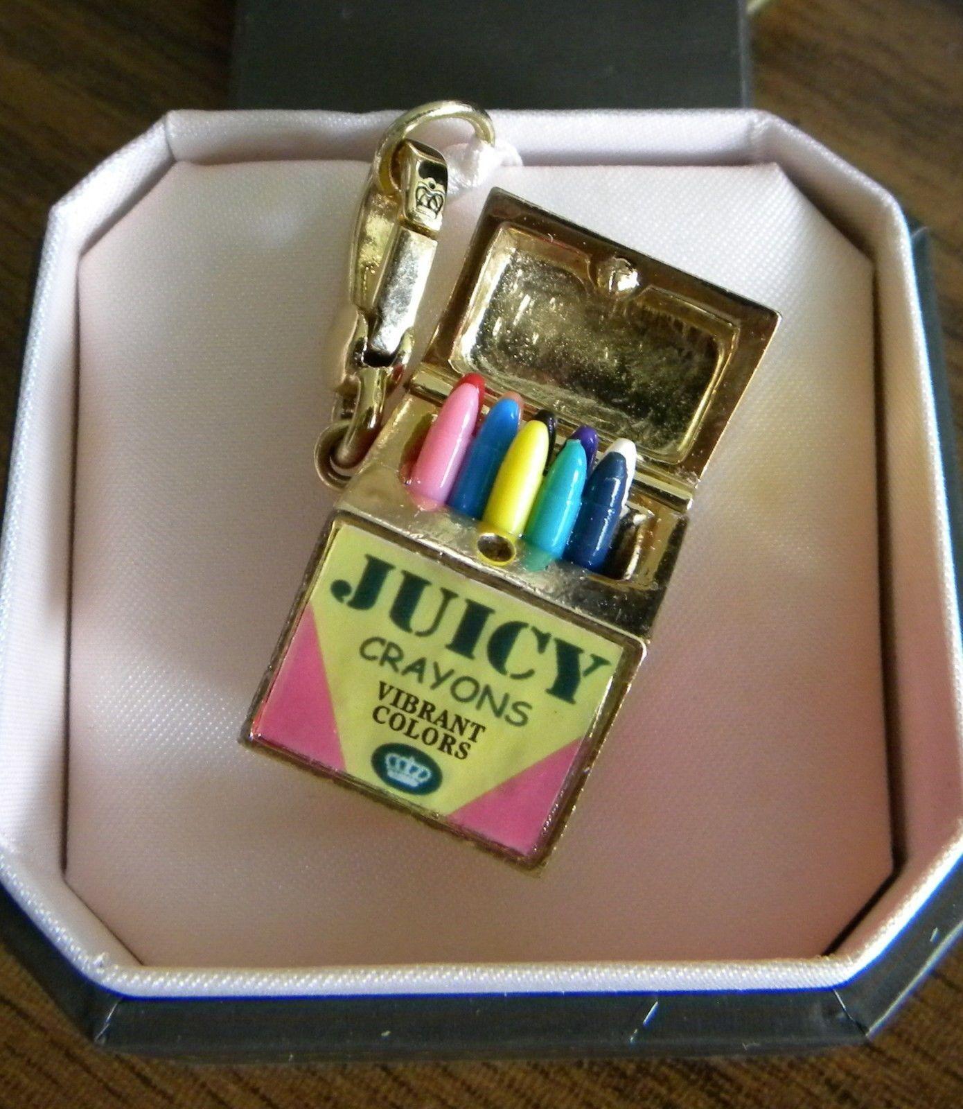 JUICY COUTURE Crayon Box CHARM Crayola School Supplies ...