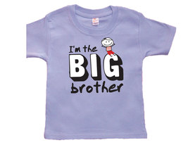 Toddler Boy I'm the Big Brother T-Shirt, Big Brother Announcement - $9.95