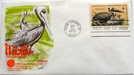 September 20, 1972 First Day of Issue Fleetwood Cover, Wildlife Conserva... - $0.99