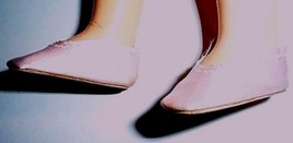 Madame Alexander Pink  Satin  Slipons Mint Fit Toni New - $8.42
