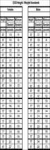 Height-Weight Chart Bookmark - $2.95