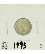 1945-S United States Mercury Dime 90% Silver Rating: (XF) Extremely Fine  - ₨119.40 INR