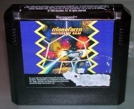 Sega Genesis - WARP SPEED (Game Only) - $12.00