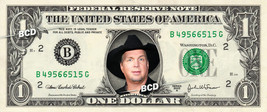 GARTH BROOKS on REAL Dollar Bill Collectible Celebrity Cash Money Gift - $5.55