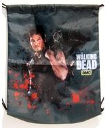 AMC The Walking Dead Daryl Dixon Draw String Blood Splattered Tote Bag New - $19.95