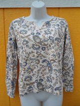 Liz Claiborne paisley long sleeve shirt - comes with a gift ! - $12.00