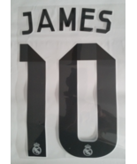 JAMES 10 REAL MADRID HOME 2014-2015 SHIRT PRINT SOCCER JERSEY KIT NAME SET - $9.95