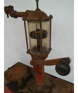 1929 Bennett Visible Glass DIAMOND Gas Station Lubester Motor Oil Pump - $769.00