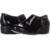 Cole Haan Callie Slip-On Waterproof Rain Shoes 677, Black, 6.5 US - $64.31