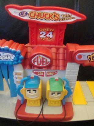 Tonka Lil' Chuck's Talking Truck Stop