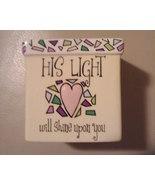 Ceramic Religious Votive Holder -