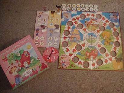 Strawberry Shortcake board game
