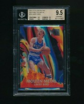 2012-13 Fleer Retro Molten Metal Larry Bird BGS 9.5 - $80.00