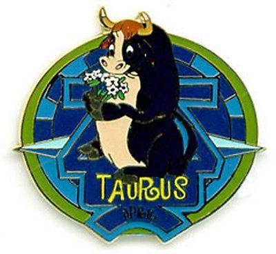 Ferdinand Taurus Zodiac authentic  Disney no card pin/pin