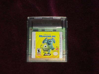Primary image for Monsters, Inc.  (Nintendo Game Boy Color, 2001) CARTRIDGE ONLY