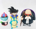 4pcs/set Anime Dragon Ball Sun Goku Pilaf Puar Master Roshi PVC Action Figure