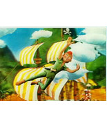Peter Pan from 1966 rare 3d Lenticular Disney Print - $14.99