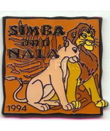 Simba and Nala dated 1994 Lion King Authentic DISNEY Pin/Pins - $14.99