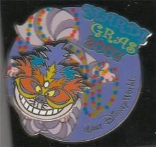 Alice Cheshire Cat Mardi Gras Authentic Disney WDW Pin No Backer card - $33.85