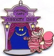 Cheshire Cat Villain  Alice  Authentic Disney LE Auction Pin on original Card - $69.99