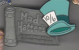 Mad Hatter  from Alice in Wonderland Authentic Disney Hat Series WDW Pin... - $44.99