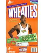 michael jordan wheaties cereal box space jam 1996 movie chicago bulls ba... - $19.99