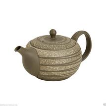 Tokoname Pottery : HAKUSUI - Japanese Tea Pot 370cc Parallel Stainless s... - $67.32