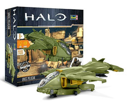 Revell Snaptite Halo 5 UNSC Pelican Build & Play Model Kit #85-1767 New ... - $29.88